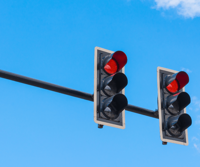What are the Penalties for Running a Red Light in California?